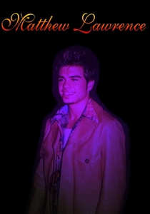 Matthew Lawrence in a purple light. I created it myself. <3