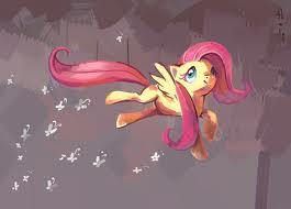 A Fluttershy painting.