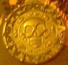 My icon is my copy of the cursed Aztec medallion from POTC: Curse of the Black Pearl that I am wearing right now.