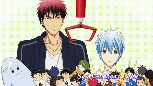 The Letter K How Bout Kuroko No Basket Plot Uh