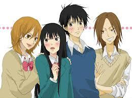 """Kimi ni Todoke ^.^ Genre: Romance, School, Shoujo This story is centered around a girl named Kuronuma Sawako who is nicknamed Sadako (ghost girl from """"The Ring"""") sa pamamagitan ng her classmates because of her scary face and demeanor. She greatly admires Kazehaya-kun from afar, he is """"100refreshing"""" and is able to draw in people with his personality. Unlike her facial expressions she yearns to make mga kaibigan and live as a normal student. Gradually she starts affects those around her, including Kazehaya-kun..."""