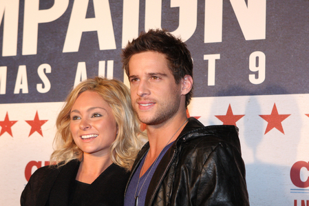 Daniel Ewing on the red carpet with his girlfriend Marni Little :)
