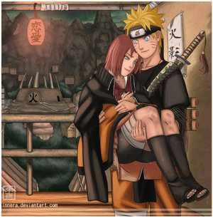 Narusaku.... First of all,naruto-kun should be MINE.... 2nd all she's done is cry and complain,IM the only one who's evr payed attention to the boy....NARUHINA FOREVER!!!!!!!