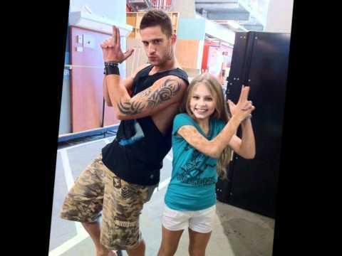 Daniel Ewing with a young fan :)