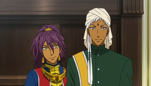 Prince Soma and Agni from Black Butler