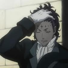 It's not really tan, but it's certainly 'darker' . So basically any 'Noah' form D.gray-Man has grayish-dark skin. I'm using my favorite, Tyki, as an example.