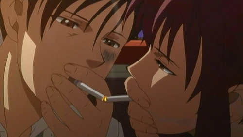 Rock and Revy from Black Lagoon
