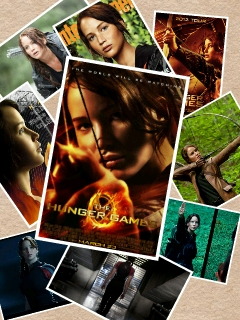 I made it myself. Katniss is the best!