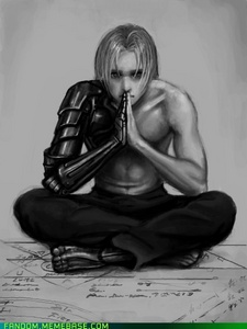 Edward Elric! I upendo this picture of him ^^