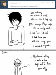 Yes. ಠ_ಠ I have found many funny comics lately. And they all have to do with my OTP! (>/////<)>~<3
