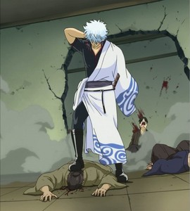 Gintoki from Gintama- No superpowers au anything, just plain old strength<3 :D