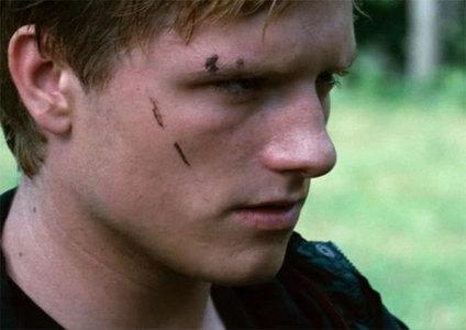 Josh as Peeta in The Hunger Games....I think he's pretty serious here❤