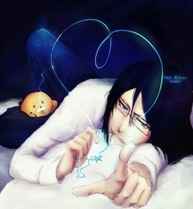 Uryu from Bleach because I love him so much!