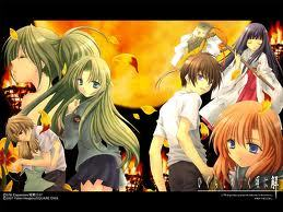 Anyone in Higurashi No Naku Koro Ni had a hard life through out the series in my opinion.