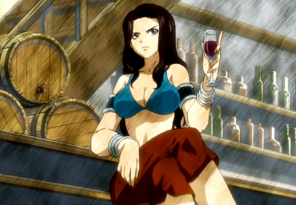 Cana Alberona because it doesn't matter how much she drinks she never gets drunk