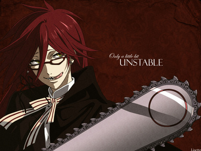 Since someone already alisema sebastian... Grell Sutcliff