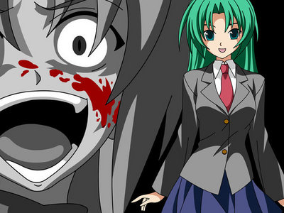 All of the girls on Higurashi are sadistic to some extent, but Shion...