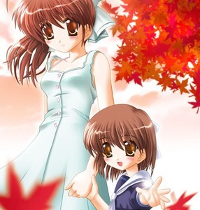 Ushio and Nagisa Okazaki *sniff* )'x