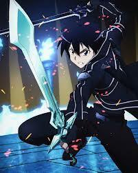 kirito from sword art online is SUPAH EPIC!!!! lol
