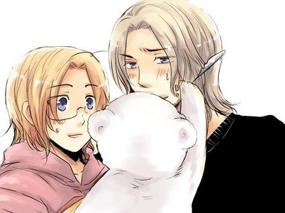 France and Canada from Hetalia XD