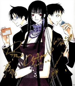 i think Yuko from Xxxholic would be the BEST drinking buddy sorry for ppl who said that to (^3^)