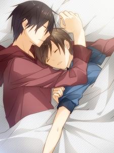 Takano and Ritsu from Sekai ichi Hatsukoi. *w* <3