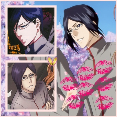 IN BLEACH!!!! Just to kiss kiss kiss kiss kiss kiss and marry him ↓ [b]My Uryū!!!![/b] He's my inspiration!!