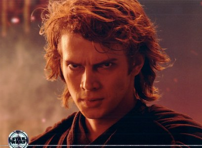 I would pull out Anakin. Not Anakin played by Sebastian Shaw, but Clone Wars Anakin, played by Hayden Christensen. He is absolutely my life role model. He only went to the Dark Side to save Padm. I would do that to save my wife if I was a dude.