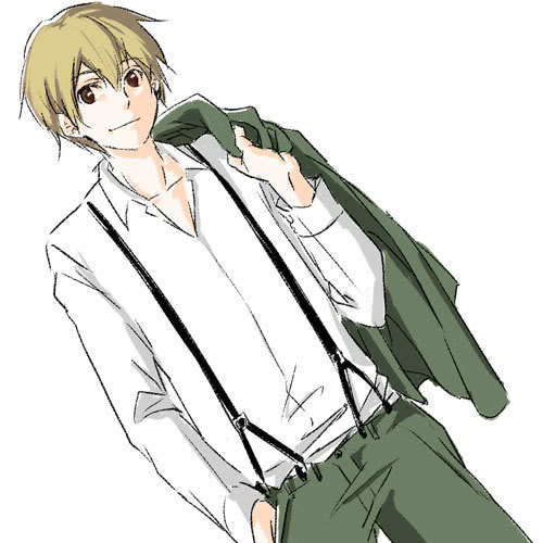 Posting a pic tomorrow but answering this now. :P Firo Prochainezo from Baccano! He is fiiine