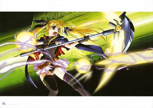 Fate from mahou shoujo lyrical nanoha