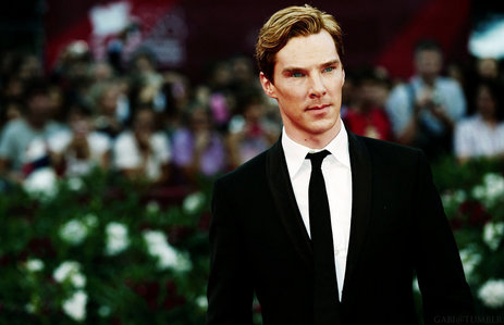 This time I'll post Benedict Cumberbatch