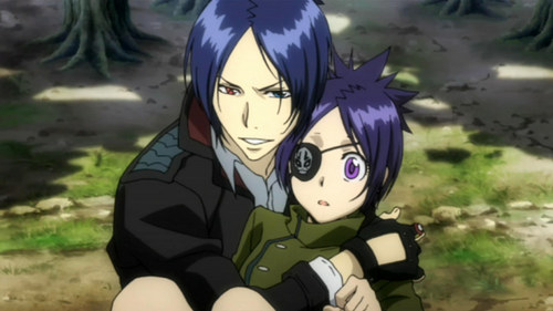 I like 6996 :D They look cute together~ Chrome already admit her feeling to Mukuro, just need to wait for Mukuro confession and it will be a canon!