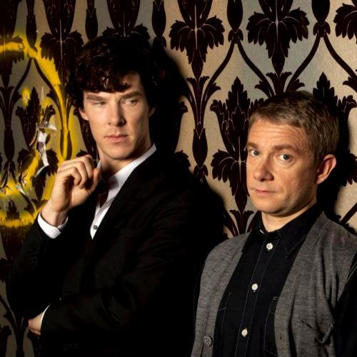 And again its Ben! He plays Sherlock very well. When he gives someone that strict look it really beats the crap outta me....