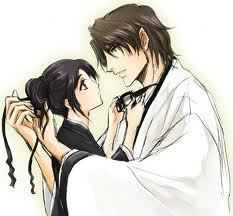 momo and aizen psst in her dreams >_< which is why i created the aizenxorihime club :)