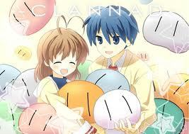 I present to you: Nagisa-san and Tomoya-kun~~ from Clannad.