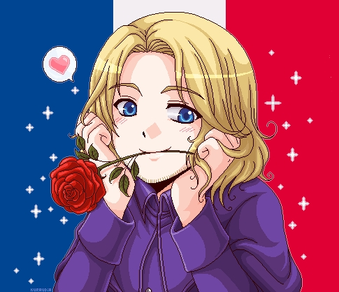 Hmm, I was gonna post Tamaki, but there's already an Ouran answer, so how about France!