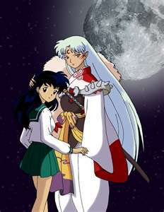 Kagome and sesshomaru!!!