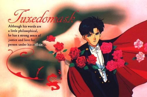 Darian! A.K.A. Tuxedo Mask! Couldn't he thibk of a better name?