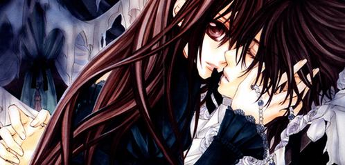 Kaname and Yuki.