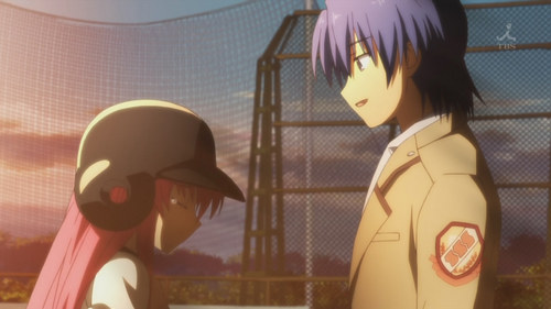 Yui and Hinata from Angel Beats! <3
