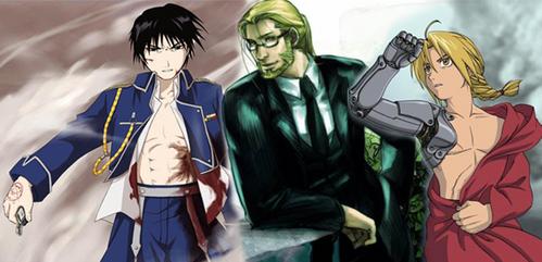 Roy, Hohenheim, and Ed are all sexy men. ~^o^~