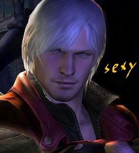 me i am cute but dante sparda from devil may cry 4 is super SEXY !!!!!!!!!!!!!!!!!