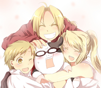 Fullmetal Alchemist, the 2003 version :3 I honestly don't know why I 사랑 this picture so much...