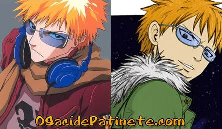 Ichigo from Bleach and Loki from Fairy Tail are TWINS. I also think Leon from fairy Tail and Toshiro Hitsugaya from Bleach look freakishly similar, but I couldn't find a good pic.