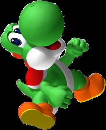 I'm the only Yoshi fan. Well my boyfriend loves him too <3