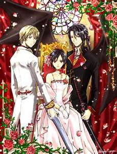Solomon, Saya & Haji from Blood Plus.