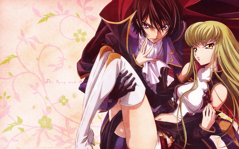 i have many favorite's, but the one 아니메 that has stood out from all the rest is Code Geass~ <3