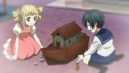 Ciel and Lizzy wore cute clothing when they were younger