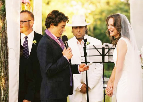 Marriage of RDJ and Susan