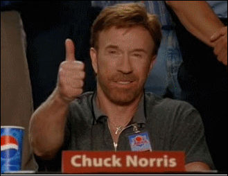 Simple! Chuck Norris disliked him...no thêm explanation is necessary :D